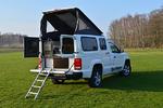 VW Amarok pick-up kempingezőknek